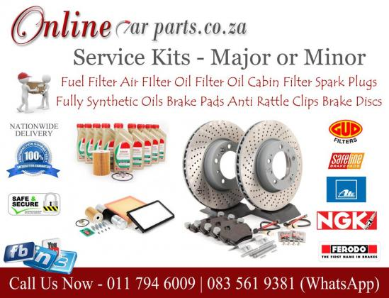 High Quality Service Kits Major Service Minor Service DIY Service Oil Fuel Air Filter Spark Plugs