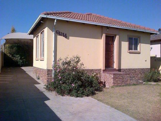House to rent in Isimuku street Birch Acres