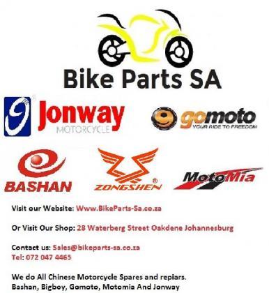 Scooter spsres and repairs @ Bike PArts Sa