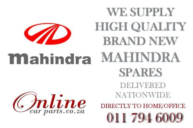 We stock a wide range of Mahindra Parts for your vehicle - WE DELIVER NATIONWIDE