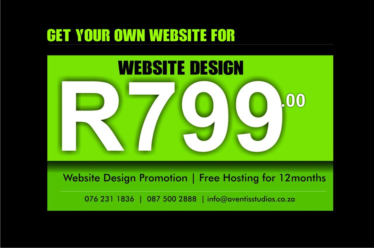 Get Your Own Exciting Website Johannesburg Public Ads