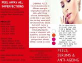 TCA Peels, serums and anti-ageing products