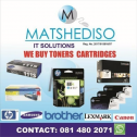 We pay cash for overstocked toner cartridges