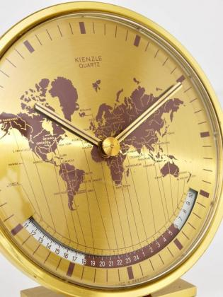 1940/60 Kienzle World Clock Solid Brass