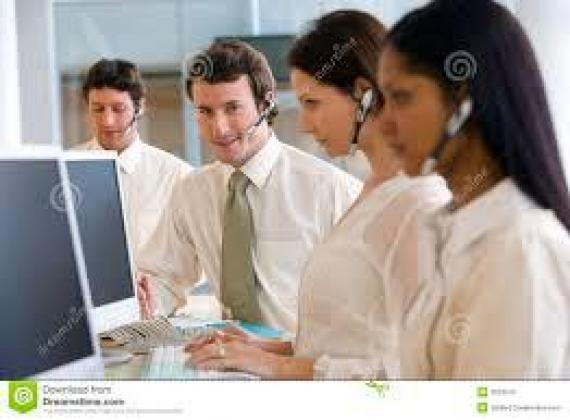 6 Customer Service Consultants/inbound call center agents required