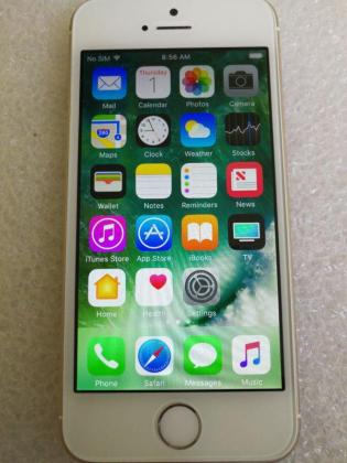 iPhone 5s Gold 64GB Good Condition