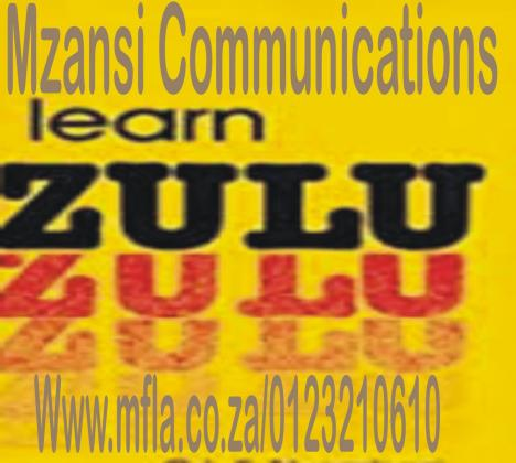 IsiZulu basic language learning