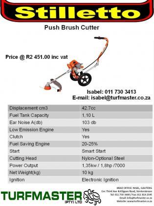 Stilletto Pro46 -3Wheeler Brush Cutter