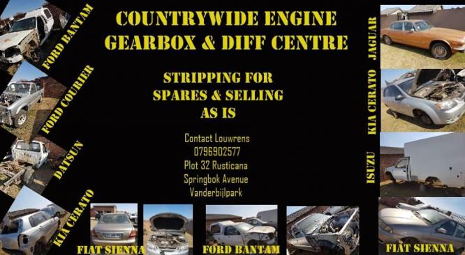 STRIPPING FOR SPARES AND SELLING AS IS