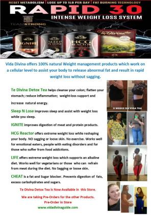 Te Divina Detox Tea for Rapid Weight loss NOW Available in The Local Choice Pharmacy