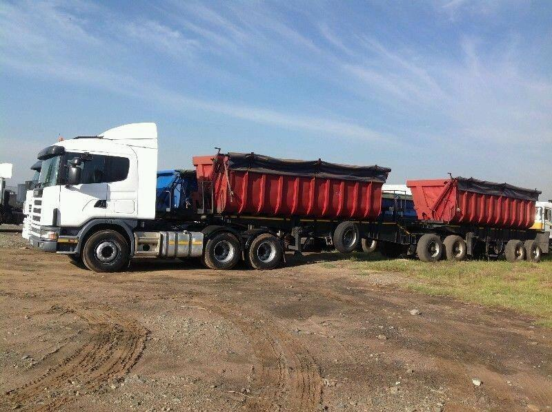Trucks And 34 Ton Side Tipper Trailers Work Available Now Brakpan Commercial Trucks Public Ads