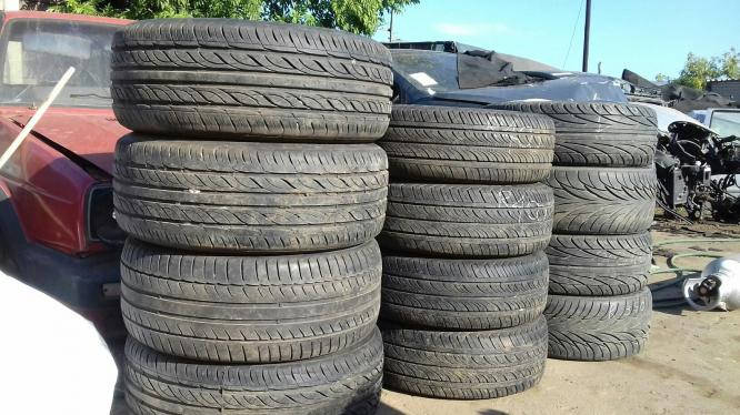 The tyres for sale