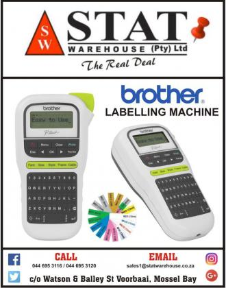 Labelling Machine (Brother) FOR SALE @statwarehouse Mossel Bay in Mossel Bay, Western Cape