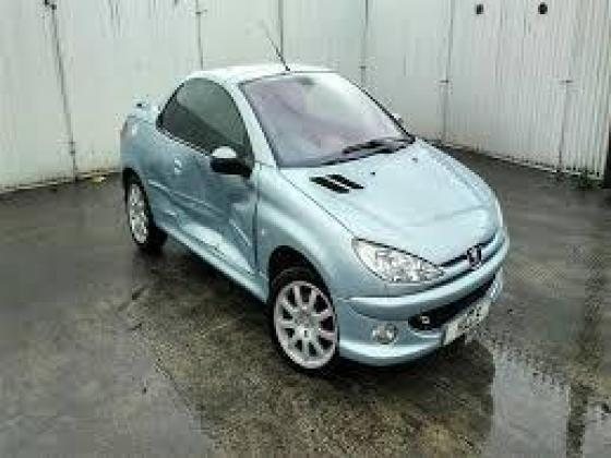 Peugeot 206cc breaking for spares