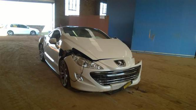 Peugeot RCZ breaking for spares in Pretoria-Tshwane, Gauteng