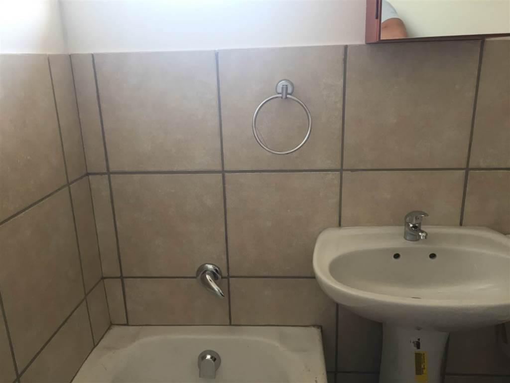 Brand new open plan bachelor flats. One bathroom with a bath toilet ...