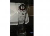 Erdinger Weissbrau 130 Jahre Beer Glass 0,5L Collectible