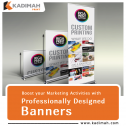 Looking for Banners that you're Customers Will Love? Contact Kadimah
