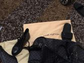 Louis Vuitton luggage bag and High Top sneakers for sale(high end luxury items)