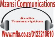 Professional transcription services in SA