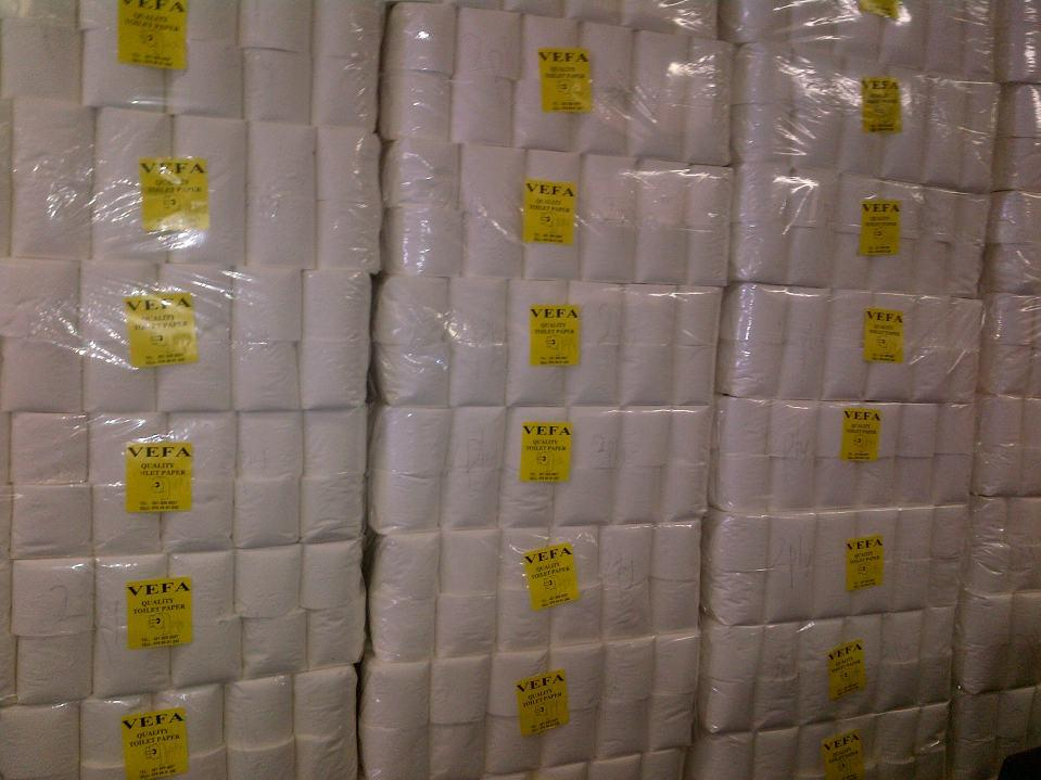 Wholesale Toilet Paper : Wholesale box roll pure wood pulp layers g toilet paper