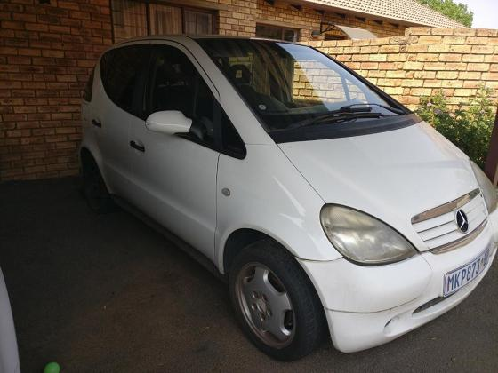 2001 Mercedes A160 for Spares