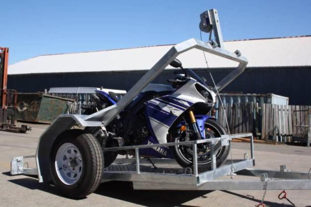2017 Easy Loading Motorcycle Trailer.