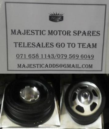 BMW E 46 crank pulley for sale