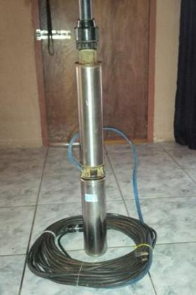 Franklin three phase submersible borehole pump