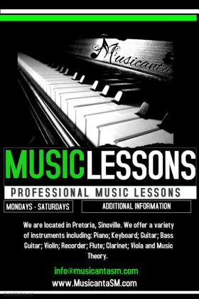 Music Lessons for ALL ages at Musicanta The School of Music