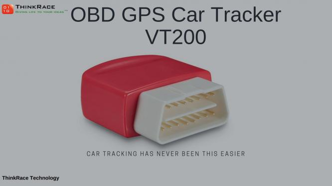 OBD2 Car Tracker VT200 Plug and Play Live GPS tracking Device