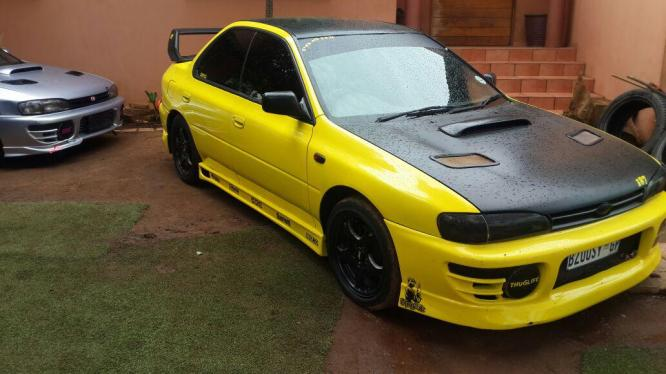 SUBARU WRX STI LIMITED EDITION