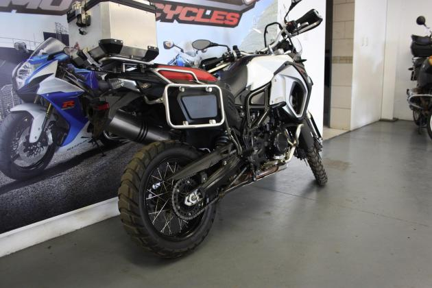 2015 BMW F800GS Adventure grey with 27343km (CC101-383)