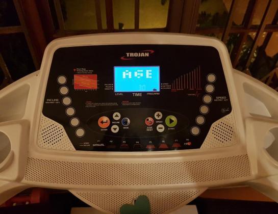 TROJAN CARDIO 450 ELECTRONIC TREADMILL