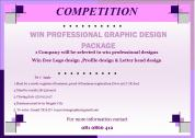Win free Graphic Design Package