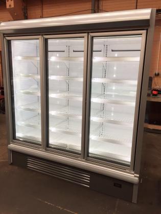 Commercial 3 Door Freezer