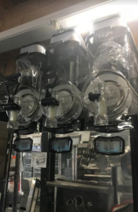 Frozen Drink & Slush Machine - Triple Bowl dispenser