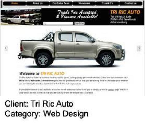 Get a 5 page responsive (mobile-friendly) website for R2500!