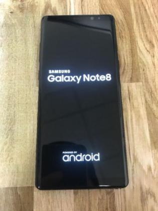 Samsung Galaxy Note 8 (Mid-Night Black)