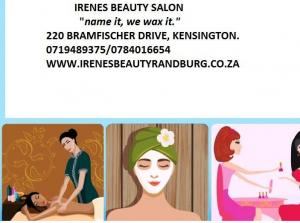 WAXING/FACIALS/MASSAGES SANDTON  0719489375