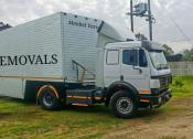 Professional Furniture Removals Between Bloemfontein Gauteng George Cape Town..