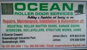 OCEAN ROLLER DOORS AND GENERAL MAINTENANCE