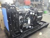 Silent generators powered by original diesel engines