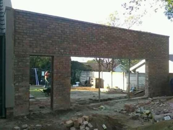 Rebuild in project in Johannesburg, Gauteng