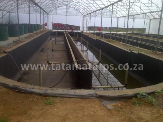 Metal-Framed Fish Raceways/ Fish Farming Raceway Dams