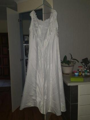One of a kind Designer wedding gown