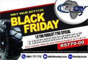 Black Friday Forklift Solid Tyres Sale In Durban At Tirecity Africa