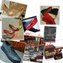 Designer shoes, bags, emper perfumes, Brazilian hair and makeup