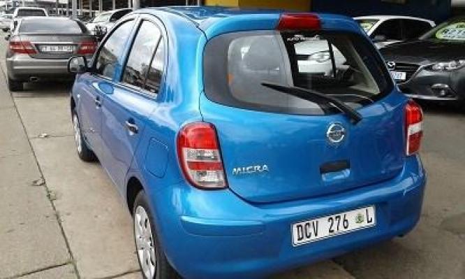 2013 Nissan Micra 1.2 Visia Plus
