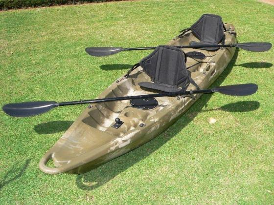 Double and Single Sit on kayaks now available in Stock